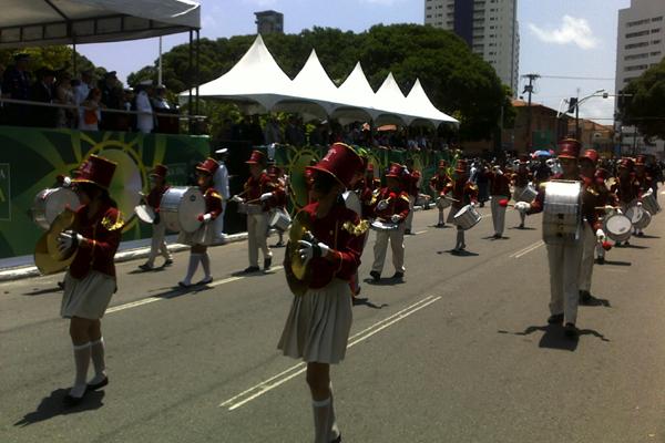 Desfile de comemoração à Independência do Brasil