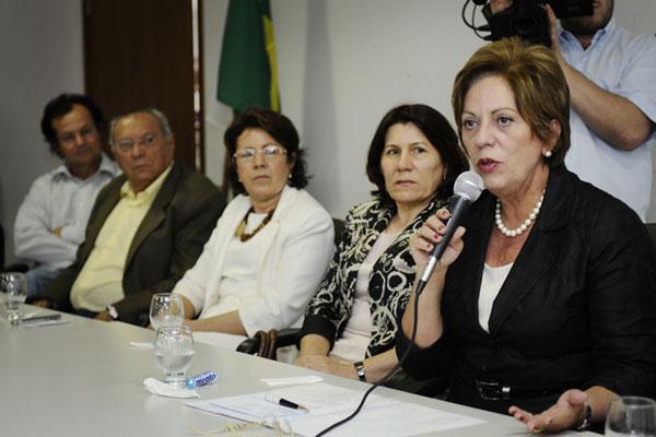 Rosalba participou do lançamento do Programa Avançar, da Fapern