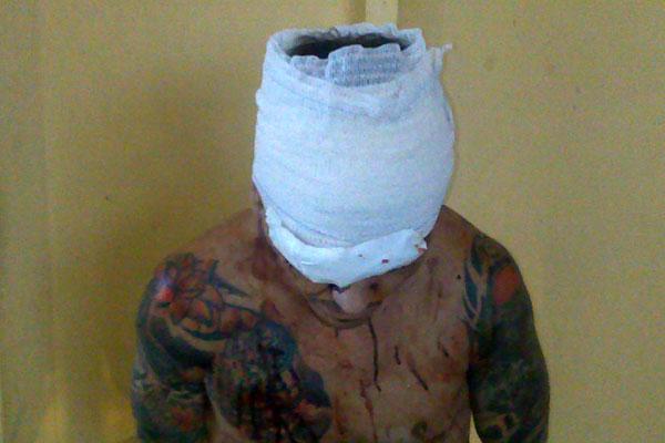Valmir Soares dos Santos foi feito refém durante o motim