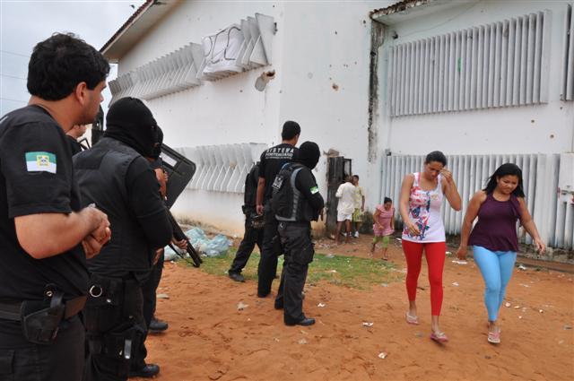 Alcaçuz: apenados libertam 47 reféns do Pavilhão 1