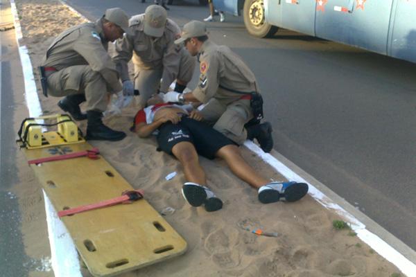 O jovem foi atropelado em meio ao tumulto que ocorria nos arredores do estádio Frasqueirão
