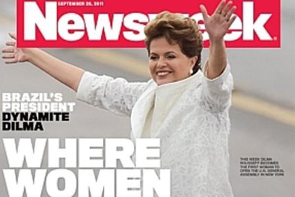 Presidente Dilma é destaque na revista norte-americana desta semana
