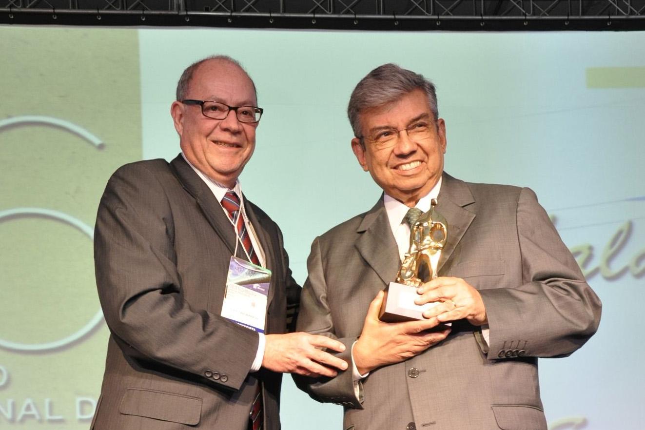 Já na sua 16ª edição, o prêmio foi entregue na noite de ontem durante o 32° Congresso Brasileiro dos Fundos de Pensão, que está sendo realizado em Florianópolis