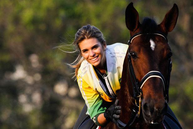 Com o cavalo Pastor, Luiza participará de seu segundo Pan-americano e espera repetir o bronze de 2007