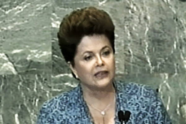Presidenta Dilma Rousseff fadiscursa na abertura do Debate Geral da 66ª assembleia-Geral das Nações Unidas.