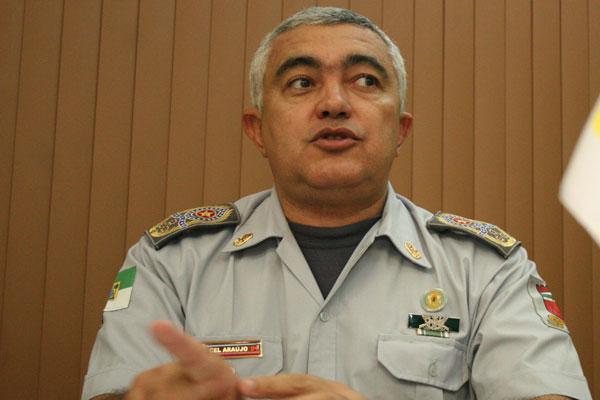Coronel Francisco Canindé Araújo, comandante da Polícia Militar do Rio Grande do Norte