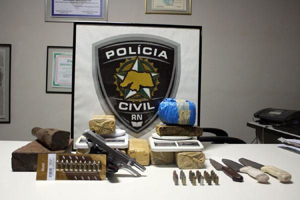 Polícia apreendeu material após mais de um mês de investigação no bairro Liberdade