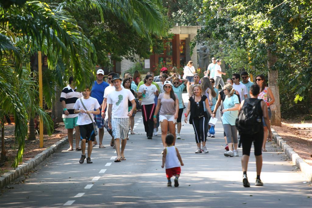 Caminhar é um dos programas mais comuns no Parque das Dunas