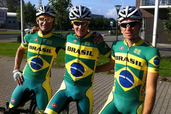 Seleção Brasileira de ciclismo que foi ao Mundial da Dinamarca sofreu com acidente e não foi bem