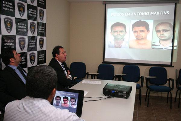 No RN, houve prisões nas cidades de Antônio Martins e Caraúbas