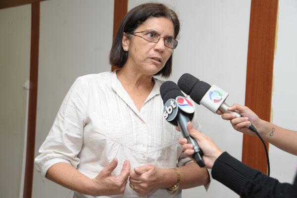 Fátima Cardoso, do Sinte/RN, explica que aumento foi acordado