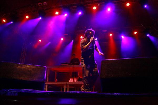 MC Priguissa foi a primeira atração do Mada de 2011