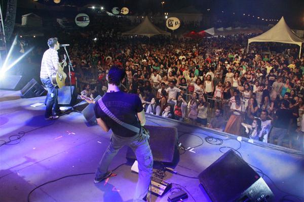 Falujah trouxe ritmo mais pop ao festival