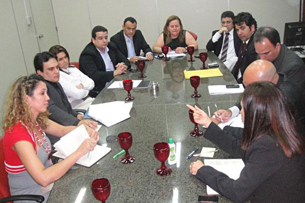 Sinpol teve reunião com diversos representantes da administração estadual