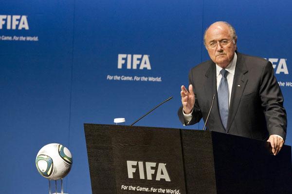 Em Zurique, Blatter comemorou a reforma no comitê de ética da Fifa
