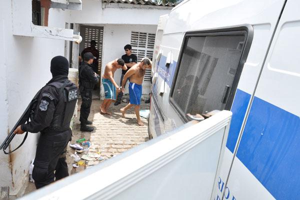 Dos 90 presos que estavam detidos no CDP zona Norte, 65 foram transferidos para outras unidades