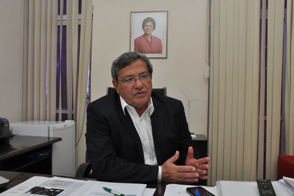Secretário estadual de Desenvolvimento Econômico, Benito Gama