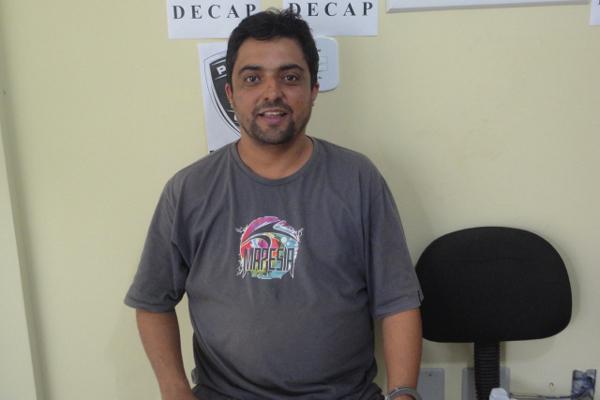 Antônio Moreno da Silva Júnior - acusado de tráfico de drogas