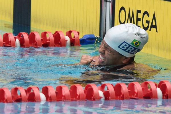 A nadadora potiguar Edênia Garcia ficou conhecida pela sua garra