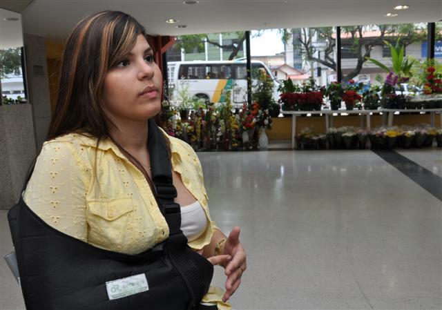 Universitária Rhanna Diógenes, 19, agredida em uma boate de Natal