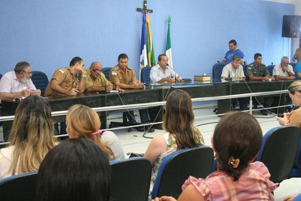 Reunião ocorrida ontem discute plano de contenção em João Câmara