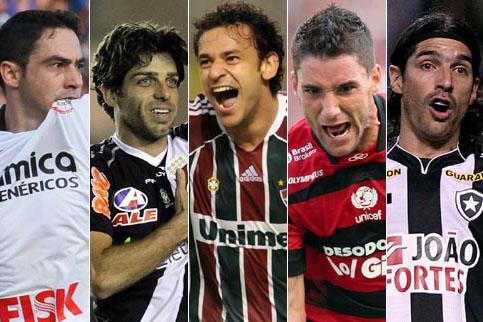 Corinthians, Vasco, Fluminense, Flamengo e Botafogo disputam o título