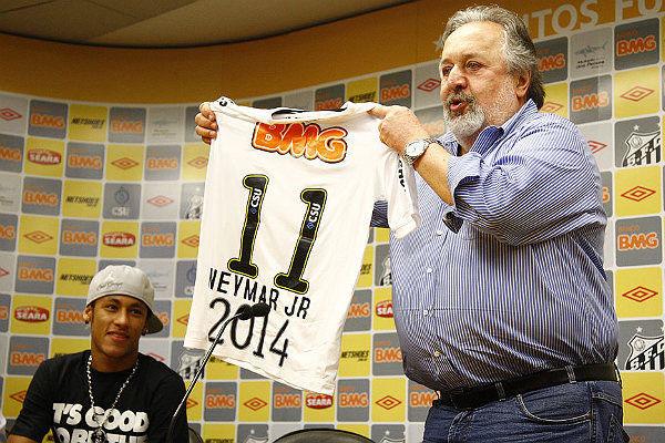 Neymar é pretendido por equipes de ponta do futebol europeu