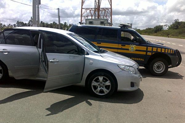 Veículo tinha placa clonada de Cabedelo, no interior da Paraíba