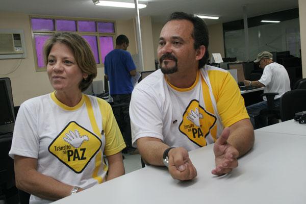 Andrea e Marcelo Almoedo contam como decidiram se engajar contra os acidentes de trânsito