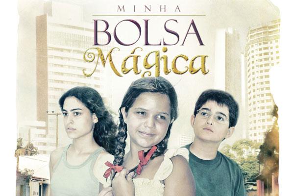 Capa do CD A Bolsa Mágica, lançado junto com o filme
