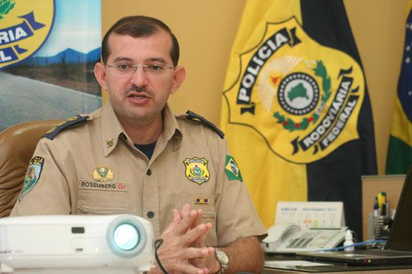 Balanço da atuação da PRF nas rodovias federais do RN foi apresentado pelo Inspetor Rosemberg