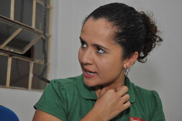 Amanda Gurgel quer uma vaga na Câmara Municipal