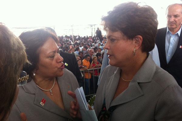 Deputada Fátima Bezerra fez o pedido para que o projeto do VLT saia do papel