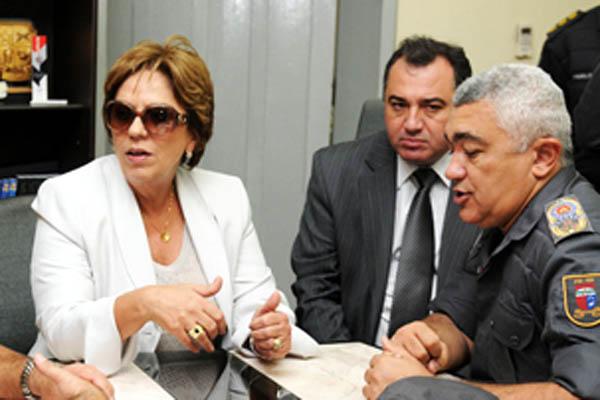 Comandante da PM e secretário de Segurança já repassaram programação para Rosalba