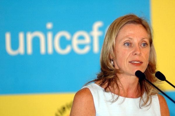 Na apresentação do relatório, Marie-Pierre Poirier, do Unicef, lembra que o principal desafio hoje é quebrar o ciclo da pobreza