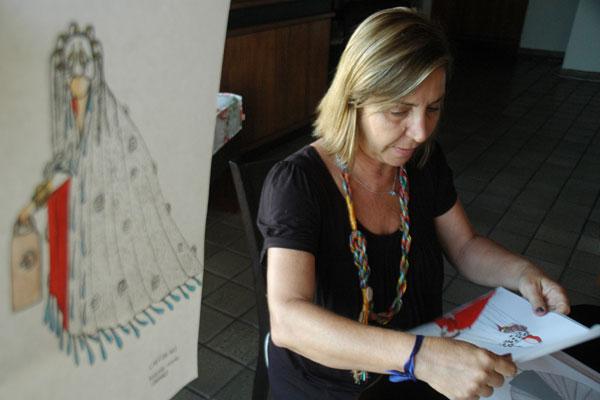Diana Fontes diz que parte do elenco concordou em se integrar ao Presente.
