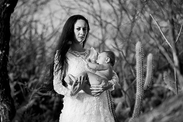 Fotógrafa em Lajes, Civone Medeiros retrata a forma da mulher