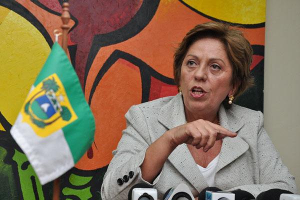 A governadora Rosalba Ciarlini participou de audiência no MT