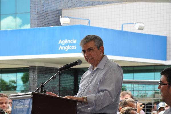 O ministro Garibaldi tem inaugurado uma série de agências no RN