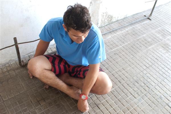 O marinheiro de convés Daniel Pereira confessou que agrediu a esposa