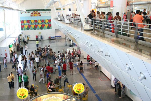 Obra deverá aumentar a capacidade de movimentação do terminal
