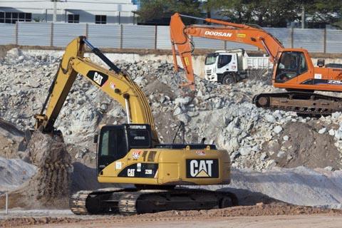 A previsão para o término das obras é em dezembro de 2013