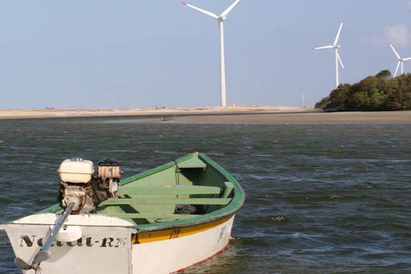Aerogeradores da Ponta do Tubarão causam problemas ambientais