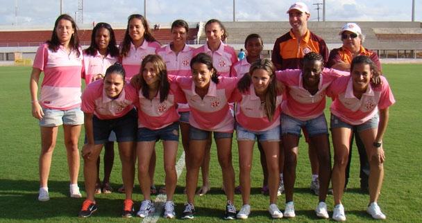 Novas atletas do clube conheceram o estádio Nazarenão