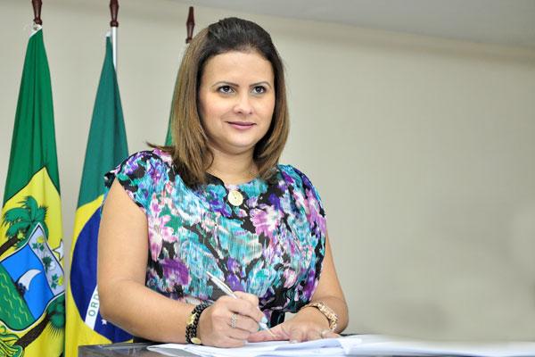 Prefeita Micarla de Sousa