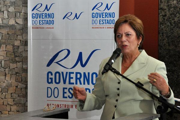 Governadora Rosalba Ciarlini voltará às obras da Arena das Dunas