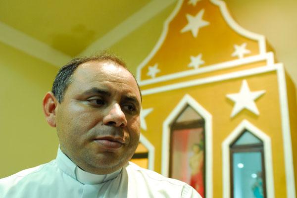 Padre Vicente diz que mesmo que quisessem acabar com esses encontros, ninguém conseguiria
