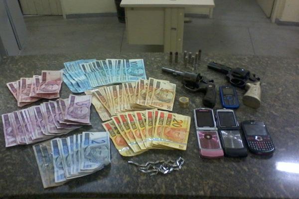 Polícia apreendeu todo o material roubado