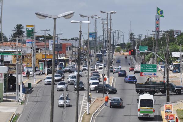 A urbanização da João Medeiros Filho não contemplou o verde