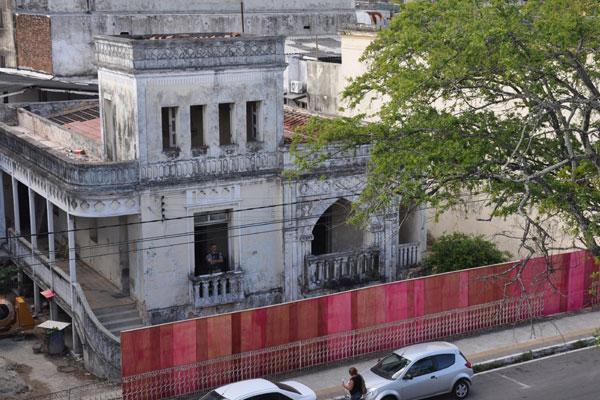 De traços arrojados, o prédio da av. Duque de Caxias começou a ser restaurado e será o novo Iphan